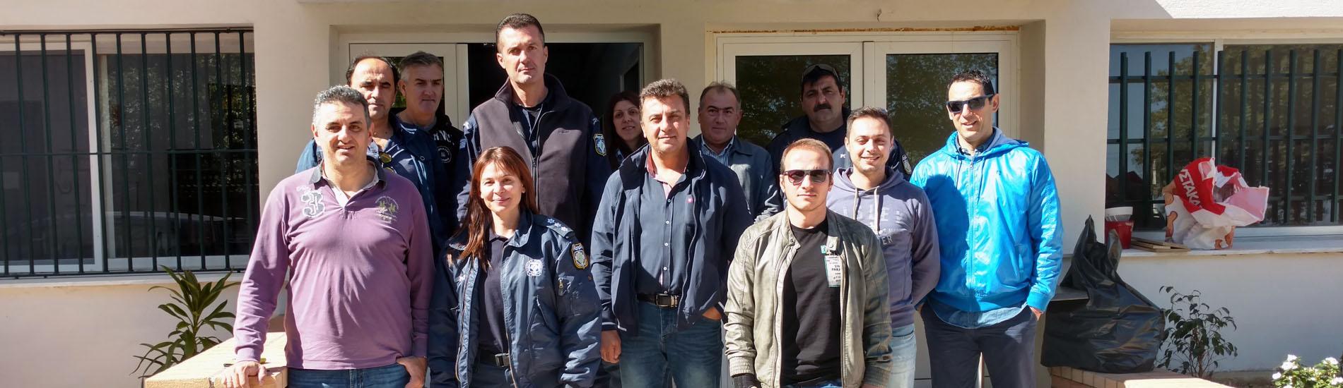 Επίσκεψη Δ.Σ. της Τοπικής Διοίκησης Καρδίτσας στο Α.Τ. Λίμνης Πλαστήρα
