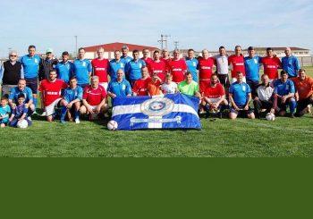 Φιλικός αγώνας ποδοσφαίρου με τους Παλαίμαχους Σοφάδων