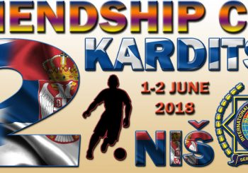 Απρίλιος 2019,3ο Karditsa – Nis Friendship Cup στη Σερβία