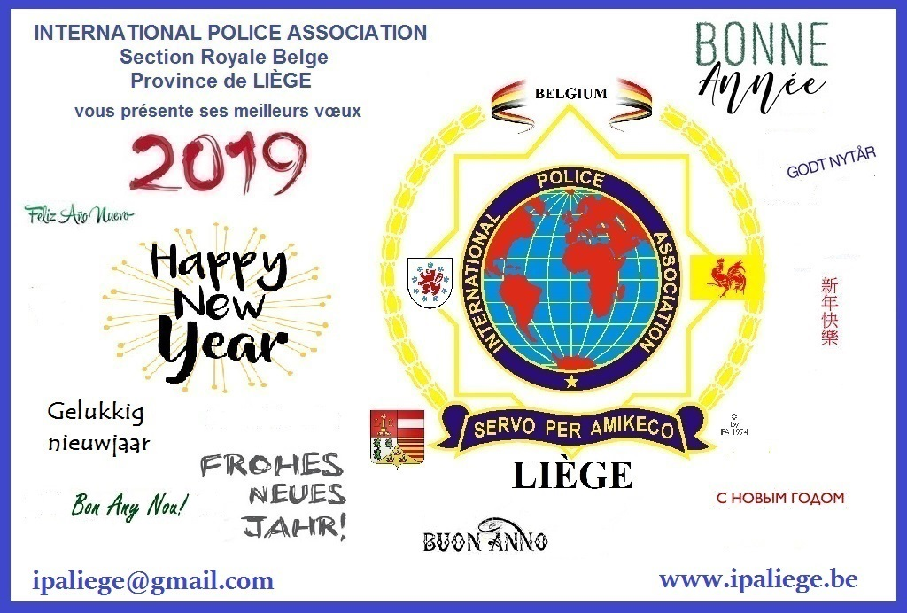 Wishes from our friends I.P.A. Liège (Belgium)
