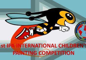 1ος Παιδικός Διεθνής Διαγωνισμός Ζωγραφικής ΙΡΑ